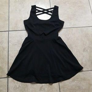 Beautiful Black Forever 21 Dress